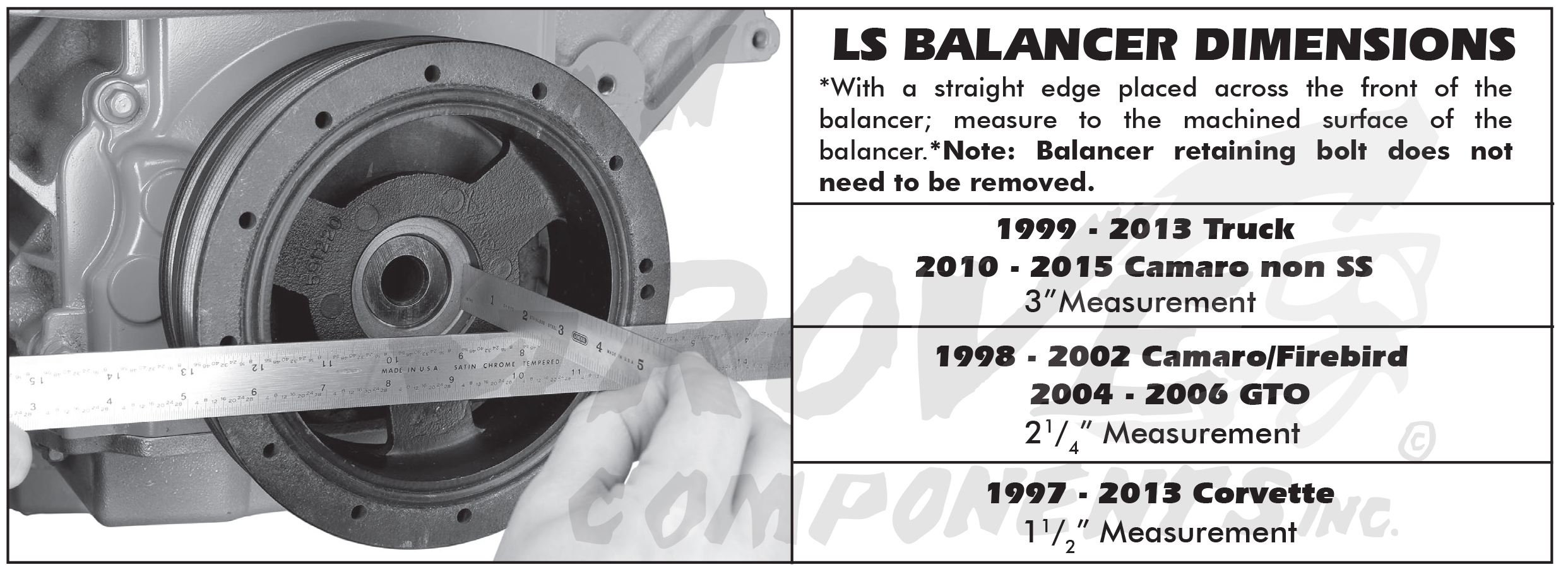 Ls Detailed A C Compressor Bracketry Installation Diagram Instructions